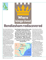 front cover British Archaeology magazine Rendlesham