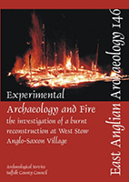 front cover showing fire